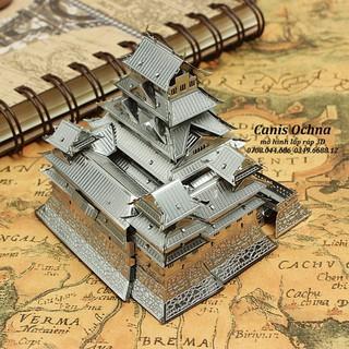 Mô Hình Láp Ráp 3D_Lâu đài Himeji_Himeji-Jo