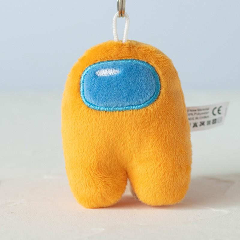 【Ready stock】Among Us Soft Animal Plush Figure Doll Toy Key Chain Bag Pendant Christmas Gift