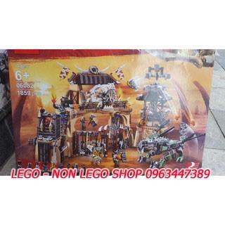 Lego SY 1132 Lepin 06082 ( Đại chiến ở hang rồng )