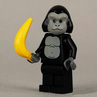 Lego Minifigures Series 3 – Anh chàng khỉ đột Gorilla Suit Guy