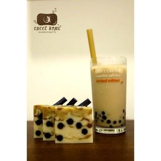 Xà phòng trà sữa làm sạch chống lão hóa da Caccé Home (Xà phòng Handmade milk tea dễ thương) thumbnail