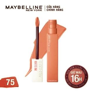 Son Kem Lì Maybeline New York Superstay Matte ink 5ml(chính hãng) thumbnail