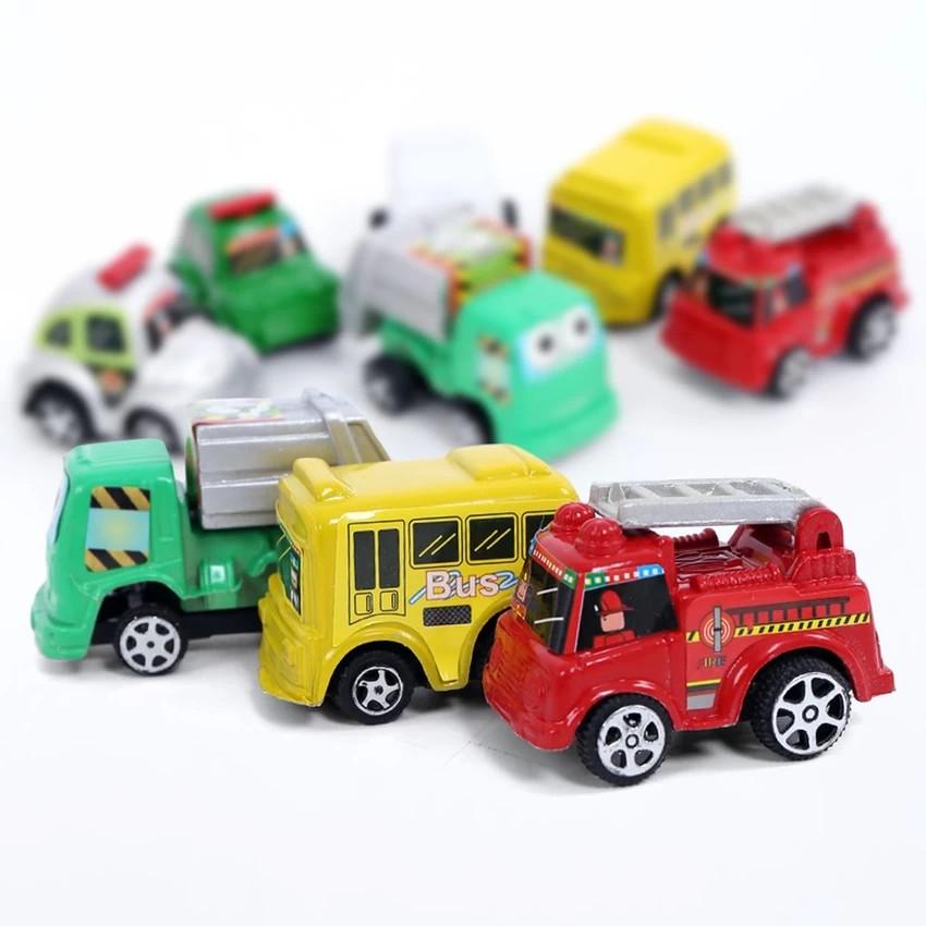 bộ 6 ô tô chạy cót (ảnh thật)
