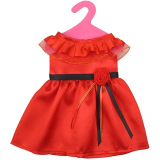 Elegant Red Sleeveless Dress for 18inch Our Generation Dolls