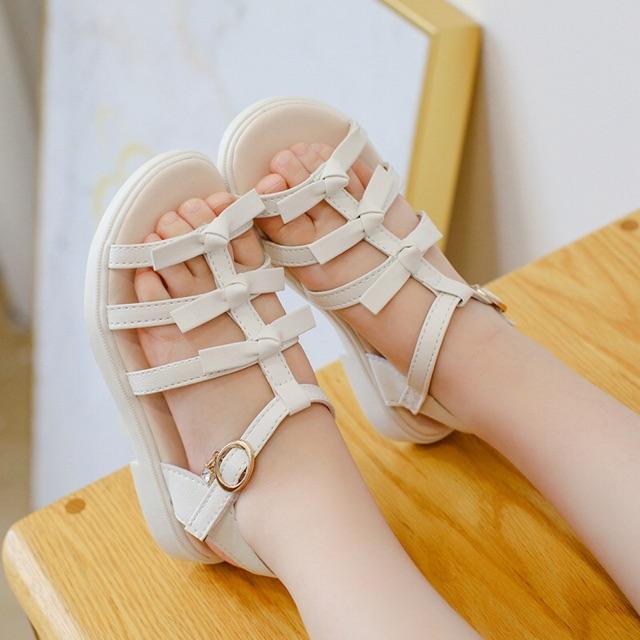 Dép sandal nơ siêu đẹp cho bé