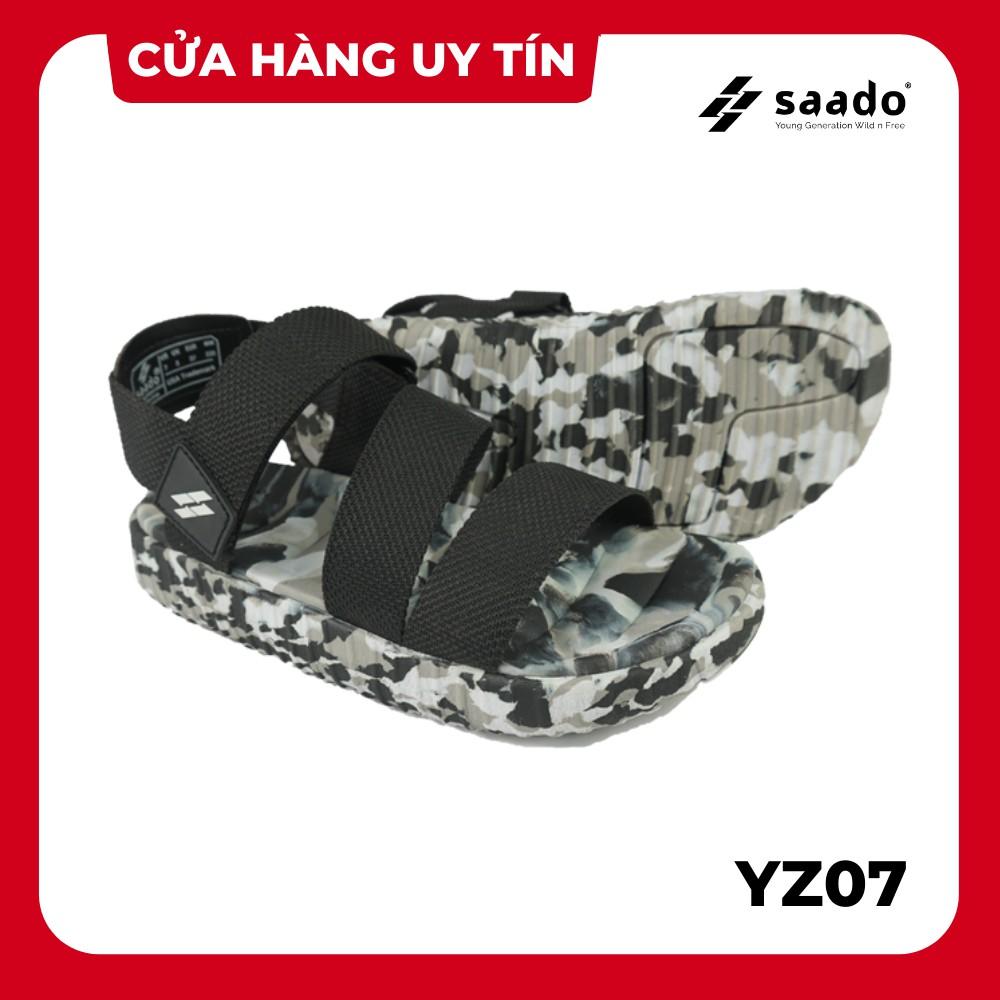 [CHÍNH HÃNG] SANDAL SAADO   YZ07 – Yezi Black Soldier   Giày Sandal Nam Nữ