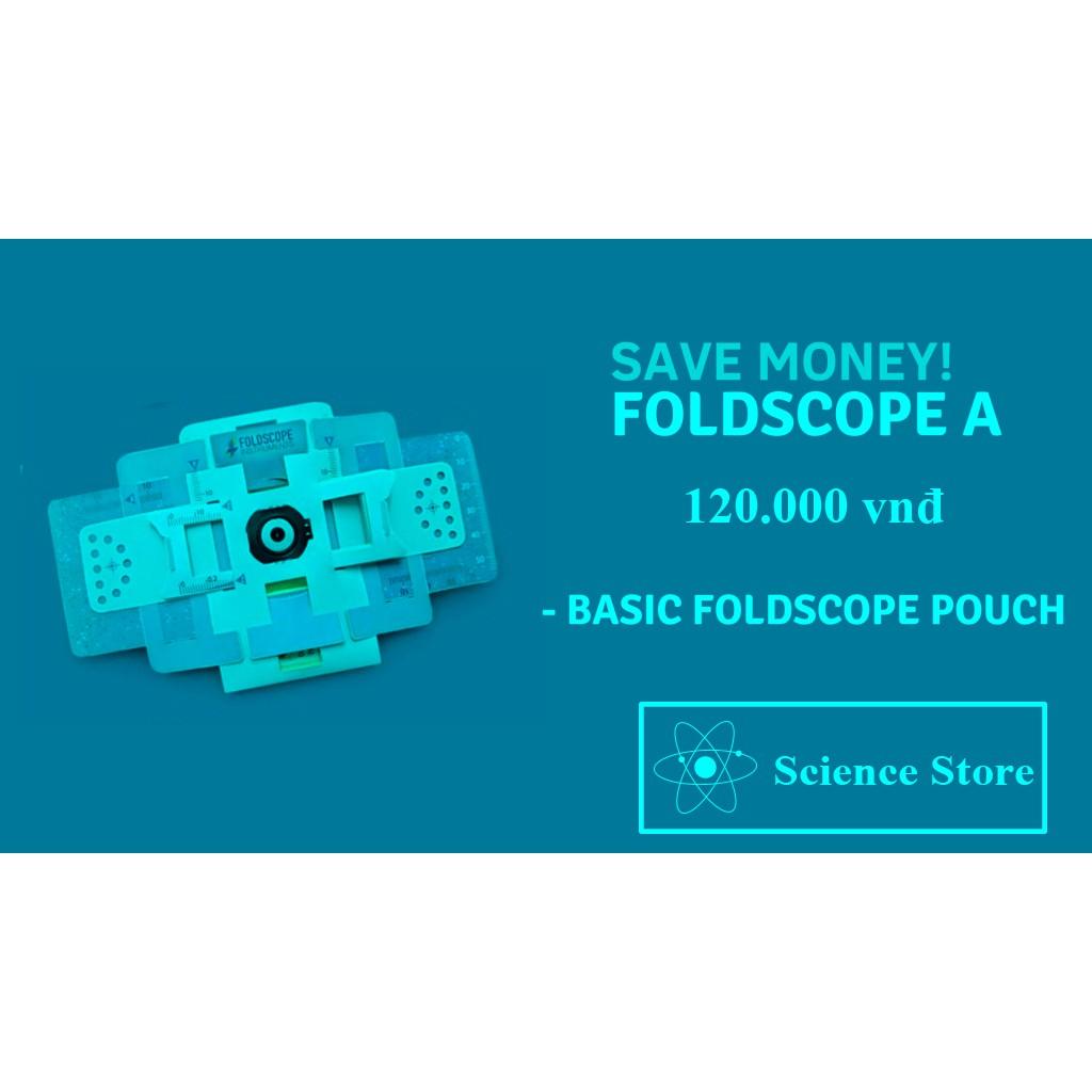 Kính Hiển Vi Giấy (Foldscope) – Khám Phá Vi Thế Giới Diệu Kỳ
