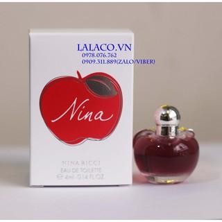 Nước hoa Nữ mini Nina Ricc thumbnail