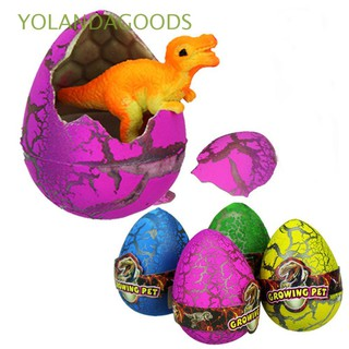 🍊12PCS Colorful Fun Kids Gift Educational Cracks Dinosaur Eggs