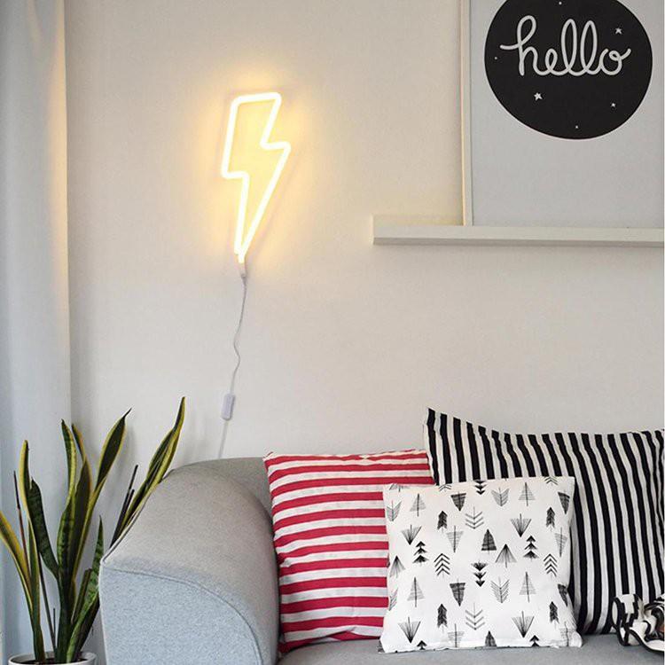 Đèn led neon đèn trang trí phòng ngủ đèn trang trí phòng đèn led ngủ đèn tiktok đèn led hình BH 12 tháng