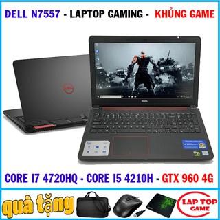 [Mã ELCL3MIL giảm 5% đơn 3TR] Siêu khủng game dell 7557 core i7 4720hq, gtx 960 4g, laptop cũ chơi game cơ bản đồ họa