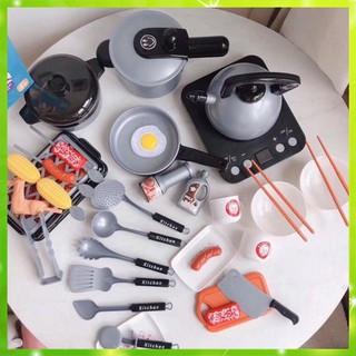 [Xả Hàng] Bộ đồ chơi nấu ăn 36 chi tiết cao cấp như thật dành cho bé