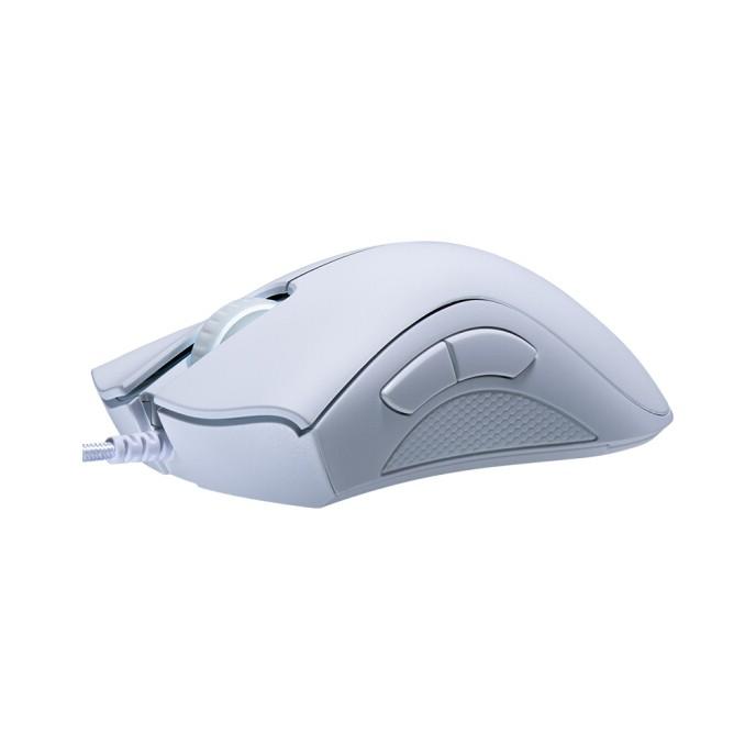 [Mã 267ELSALE hoàn 7% đơn 300K] Chuột chơi game Razer DeathAdder 6400DPI có 2 màu trắng/ đen