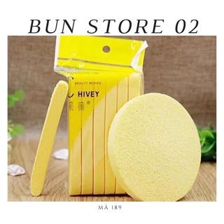 Miếng Rửa Mặt Bọt Biển Dạng Nén 12 Miếng Bun Store Mã 189 thumbnail