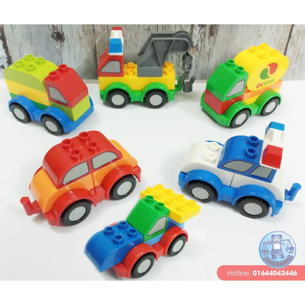 Bộ 6 xe kiểu lắp ghép sáng tạo Friso - 2699721 , 969835805 , 322_969835805 , 150000 , Bo-6-xe-kieu-lap-ghep-sang-tao-Friso-322_969835805 , shopee.vn , Bộ 6 xe kiểu lắp ghép sáng tạo Friso