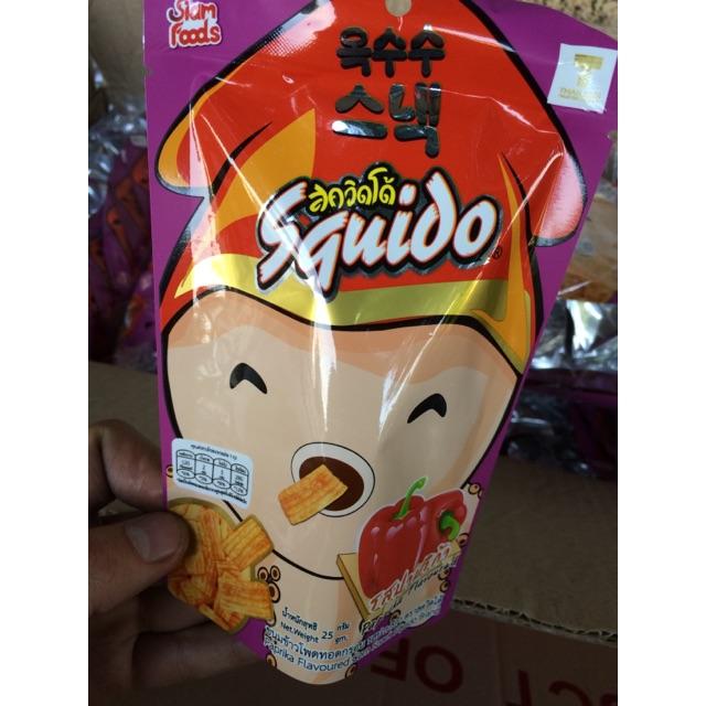 Snack Thái Mực Squido vị Ớt Chuông