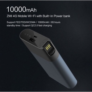 Phát wifi 3G/4G Xiaomi chính hãng ZMI MF885