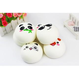 Squishy Bánh Bao Cảm Xúc 10cm – shopee.vn/tamtrangtoanthan