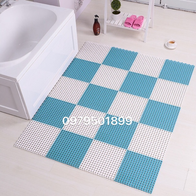 Thảm chống trơn trượt nhà tắm thông minh