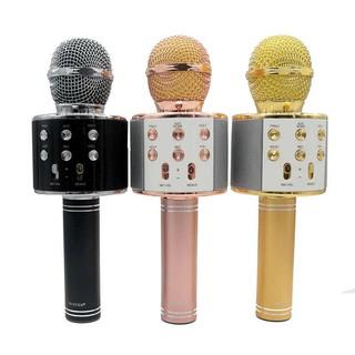 Micro Karaoke Tích Hợp Bluetooth Wster WS-858