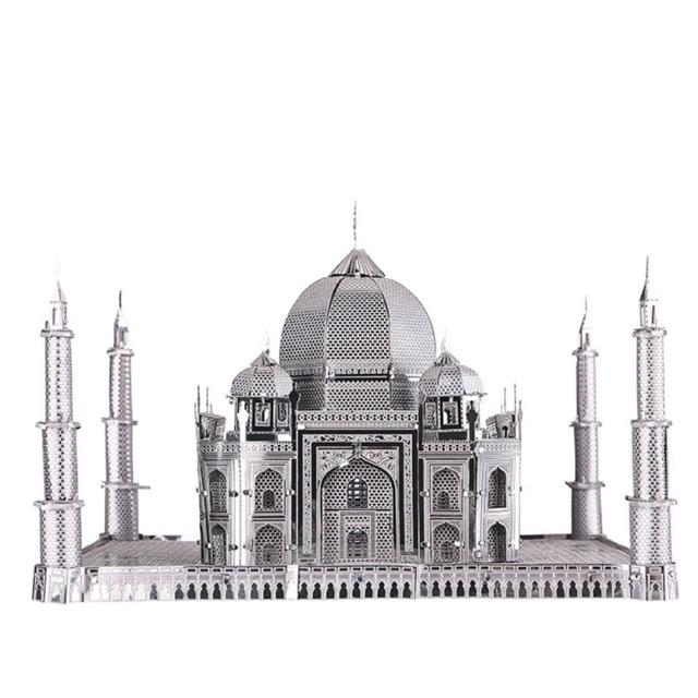  (HÀNG CÓ SẴN) Mô hình lắp ghép kim loại 3d Taj Mahal