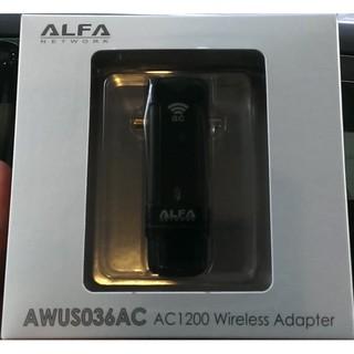 USB Wifi Alfa AWUS036AC 802.11ac 867Mbps 2.4/5 GHz