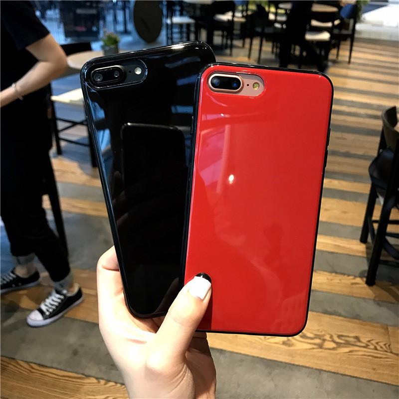 Ốp giả 8 siêu đẹp màu đen, đỏ iphone 6/6s 6/6s plus 7/8 7/8 plus IP X
