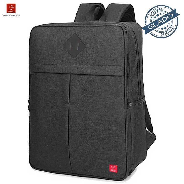 Balo laptop Glado cylinder BLC005 (Đen) - Hãng Phân Phối Chính Thức