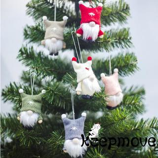 ❀ℳay-Christmas Decorations Cute Kawaii Small Plush Soft Dolls Mini Toy Christmas Gift For Girls Boys