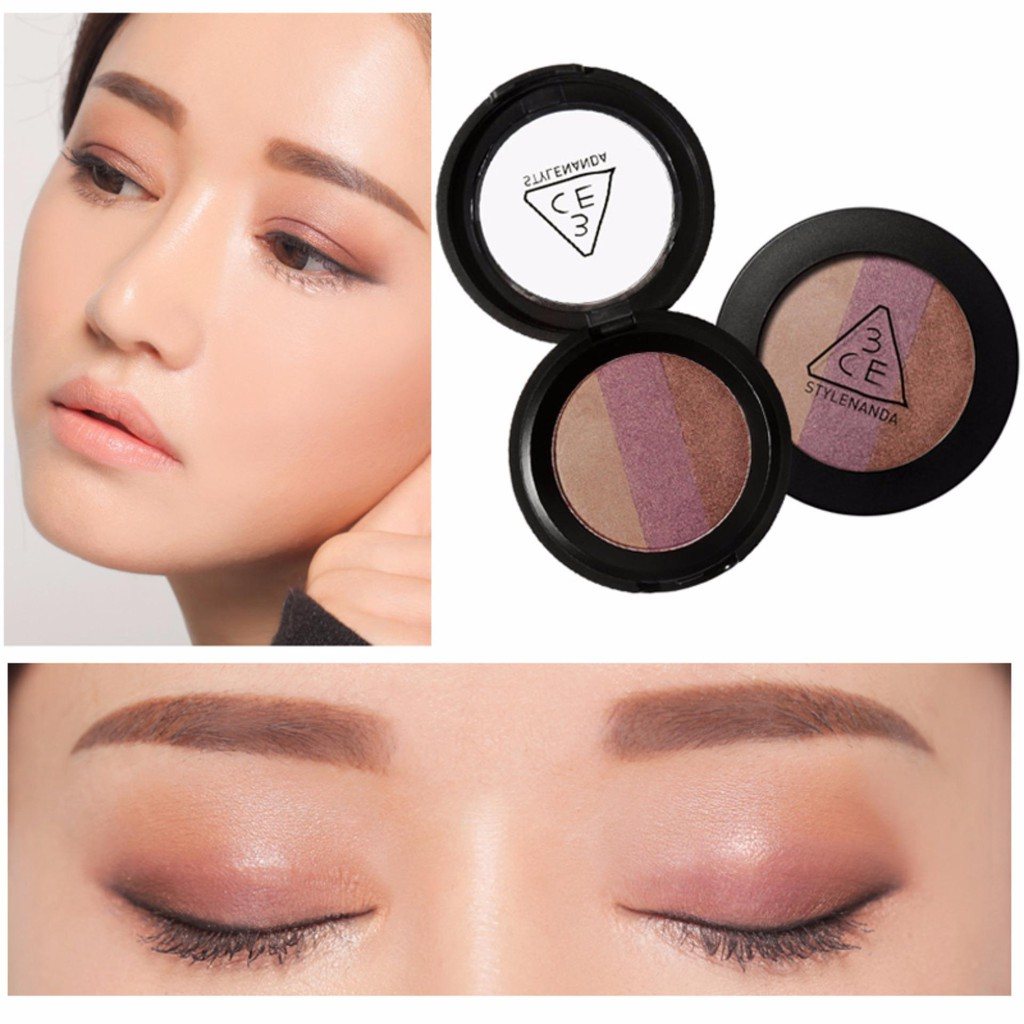 Phấn mắt 3CE Triple Shadow #Lemme See   Shopee Việt Nam