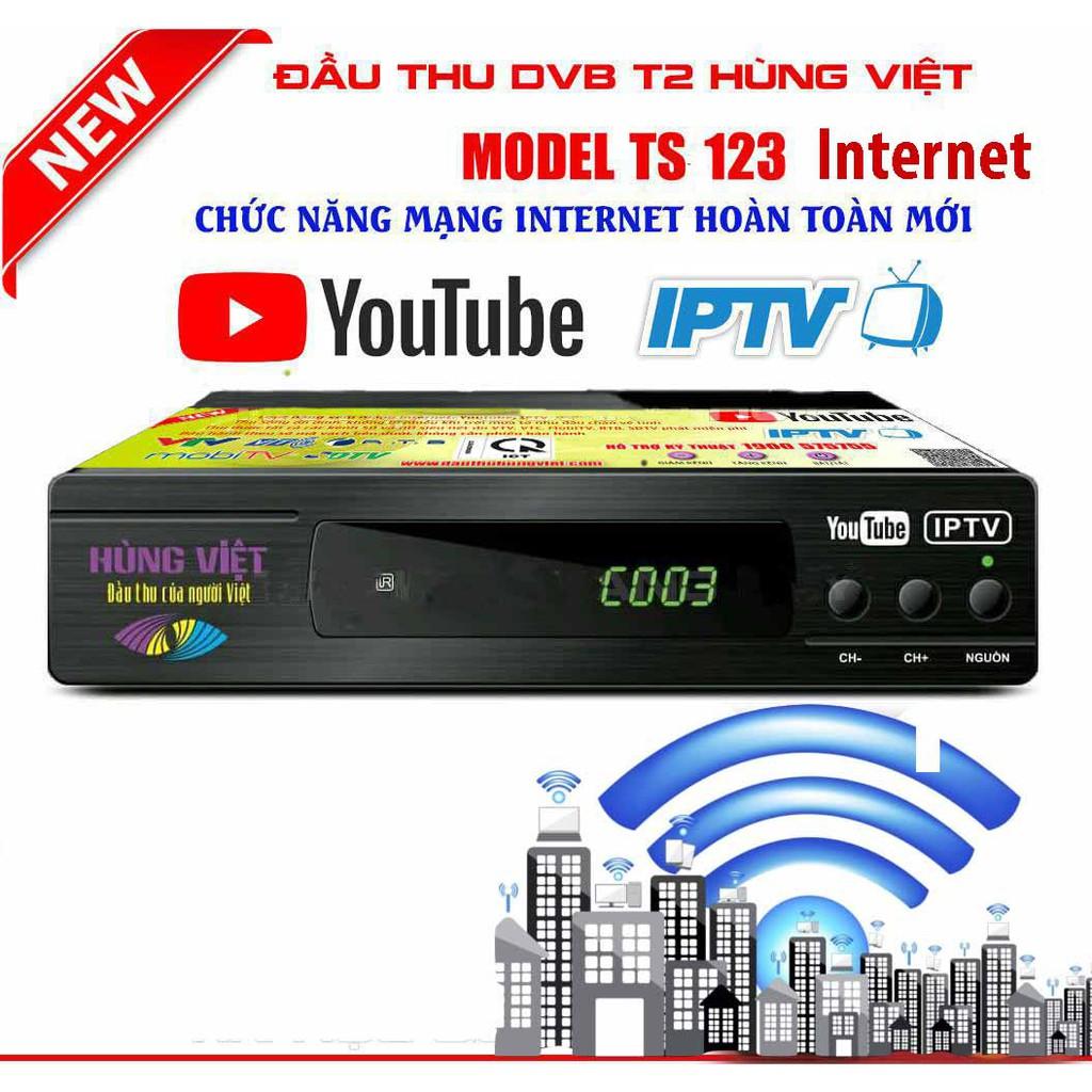 Đầu kỹ thuật số DVB TS123 2018 phiên bản youtube