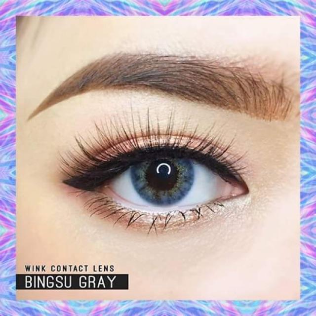 Lens Thái- xanh xám