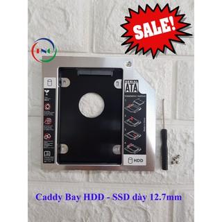 Khay ổ cứng Laptop Caddy Bay:Mỏng 9.5mm – Dày 12.7mm chuẩn SATA 3.0