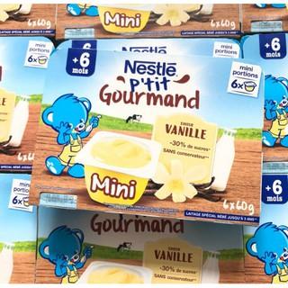 Váng Sữa Nestle Pháp Vị Vani 6m+ Lốc 6 hũ thumbnail