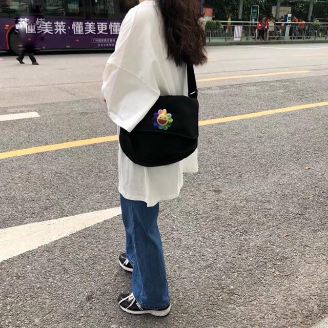 Túi bì thư message ulzzang Hàn Quốc (có sẵn, vừa a4)