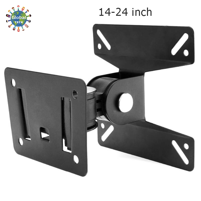 [GB.TECH] Universal Rotated TV PC Monitor Wall Mount Bracket Holder for TV LED / LCD 14 - 32 inch