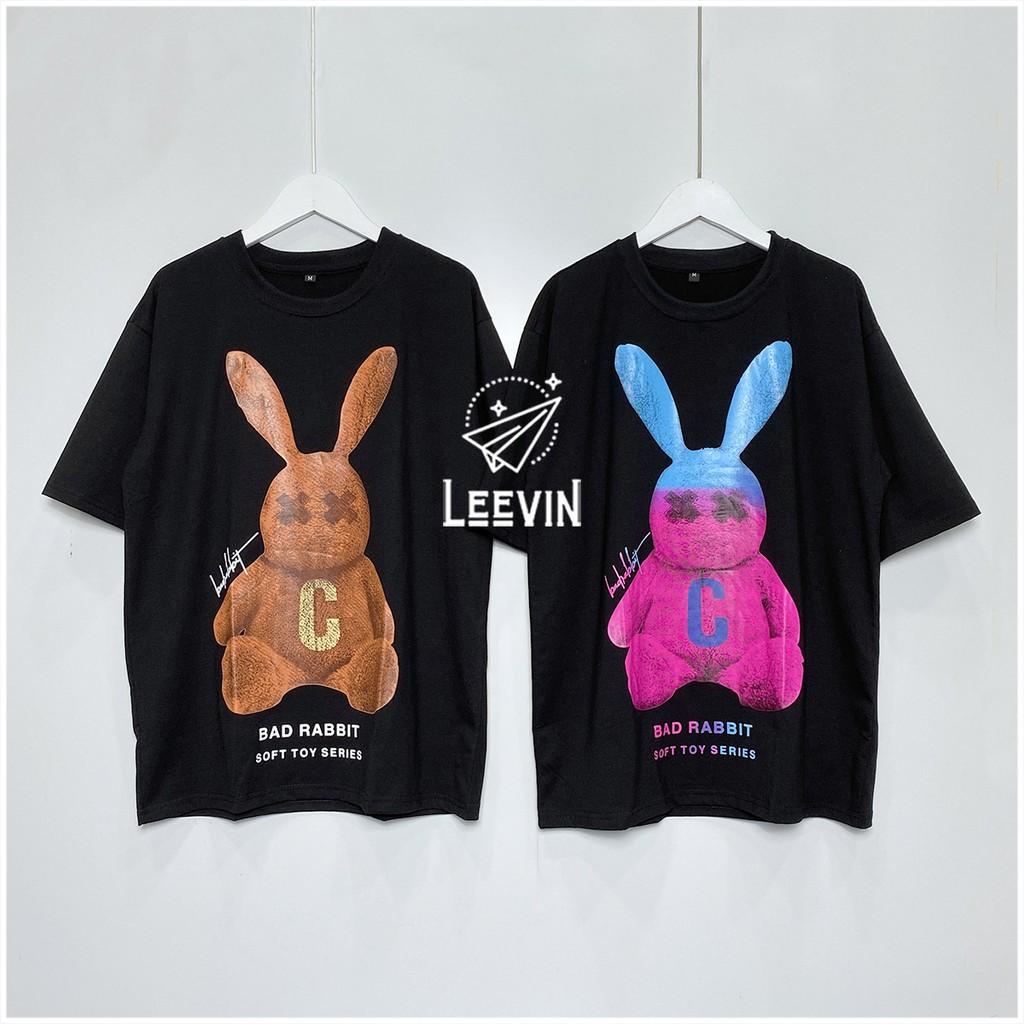 Áo Thun Nam Nữ Bad Rabbit SOFT TOY Unisex - Kiểu áo phông form rộng tay lỡ Ulzzang hình thỏ Nelly Leevin Store