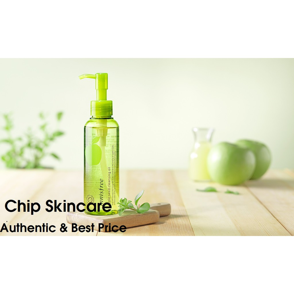 [HSD 03/2021] Dầu tẩy trang táo xanh Innisfree Apple Seed Cleansing Oil 150ml Chip Skincare - 3446021 , 1018837320 , 322_1018837320 , 400000 , HSD-03-2021-Dau-tay-trang-tao-xanh-Innisfree-Apple-Seed-Cleansing-Oil-150ml-Chip-Skincare-322_1018837320 , shopee.vn , [HSD 03/2021] Dầu tẩy trang táo xanh Innisfree Apple Seed Cleansing Oil 150ml Chip
