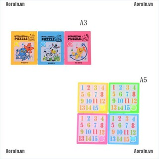 MT Cartoon Slide Puzzle Board Fidget Toy For Kids Gift Filler Autism Toys NY