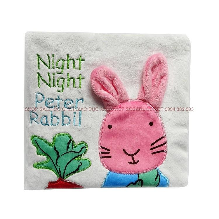 Sách vải: Night Night Peter Rabit.