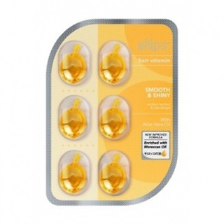 DẦU CÁ DƯỠNG TÓC ELLIPS - Hair Vitamin Smooth & Shiny 6viên 1ml ( Vàng ) thumbnail