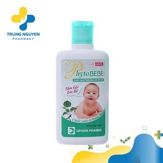 Dung dịch tắm rôm sảy em bé Phytobebe (100ml) thumbnail