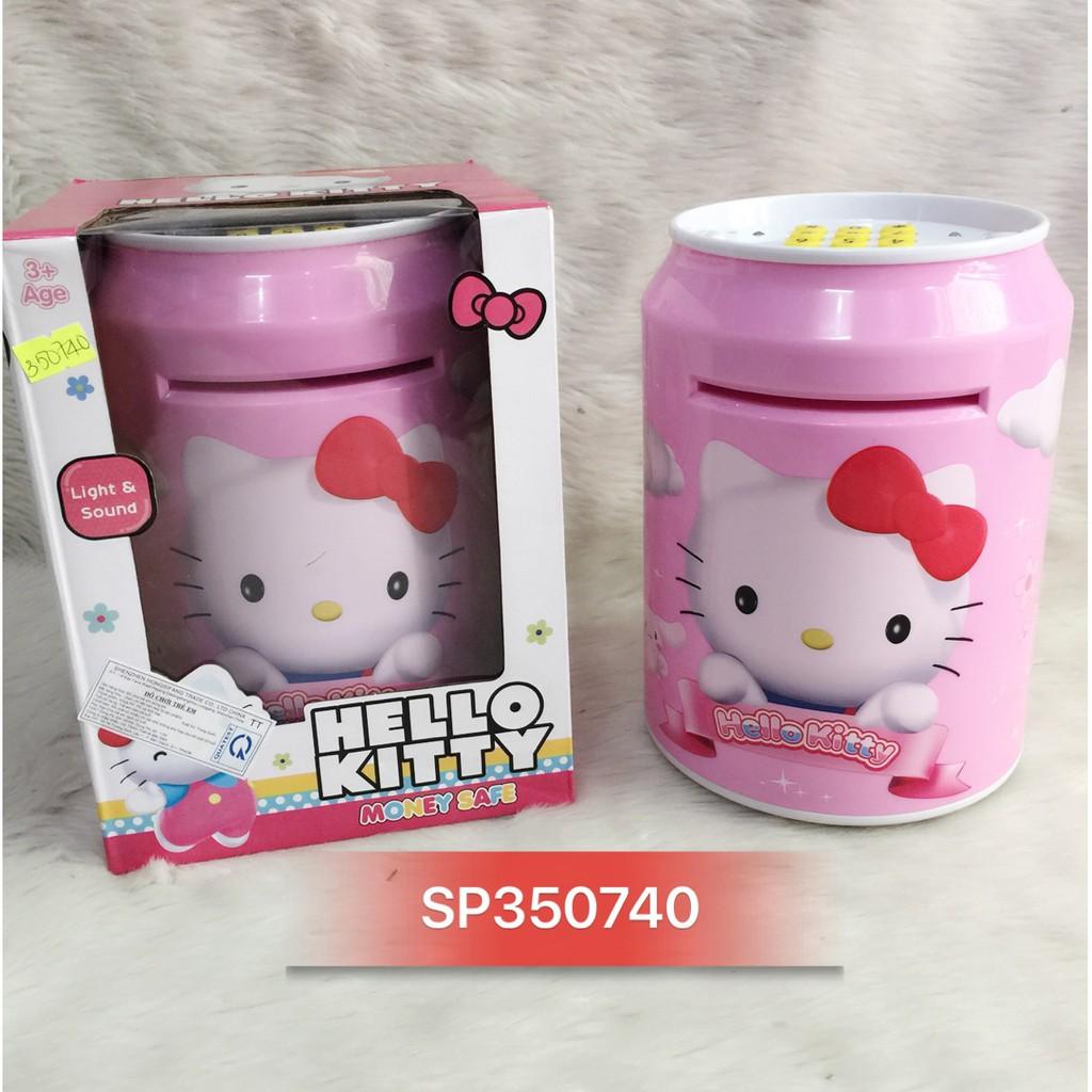 Hộp két sắt lon nước Doremon, Kitty 7011