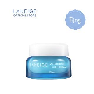 [HB GIFT] Kem dưỡng ẩm từ nước khoáng xanh LANEIGE Water Bank Hydro Cream EX 20ML thumbnail