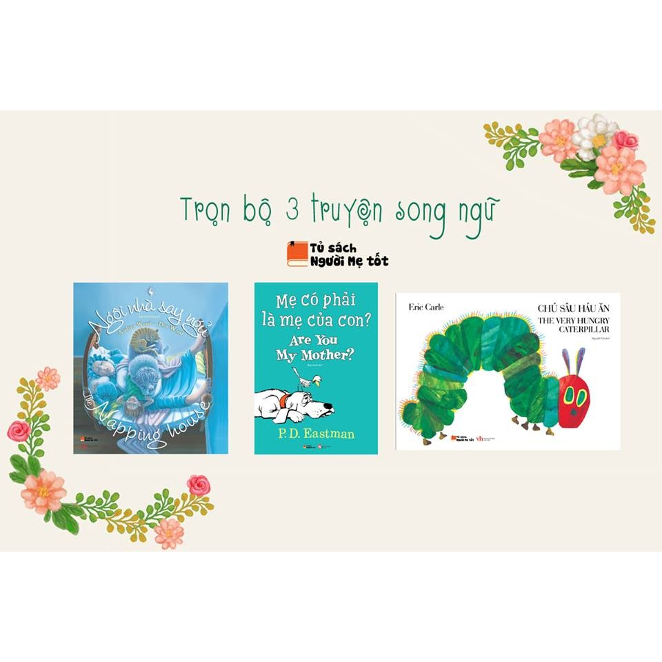 BỘ 3 TRUYỆN EHON PICTURE BOOKS SONG NGỮ