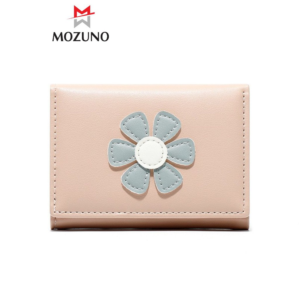 Ví Nữ Mini Chính Hãng TAOMICMIC Mix Hoa Cúc Nhiều Ngăn Đựng Tiền Đựng Thẻ Tiện Dụng Siêu Hót TM11 - Mozuno
