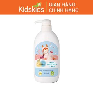 Nước rửa bình sữa Organic cho bé Lamoon - Bình 500ml