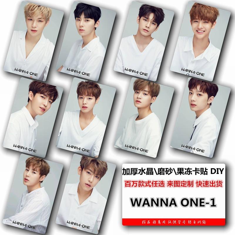 Card nhựa cứng BTS BIGBANG TFBOYS EXO W1