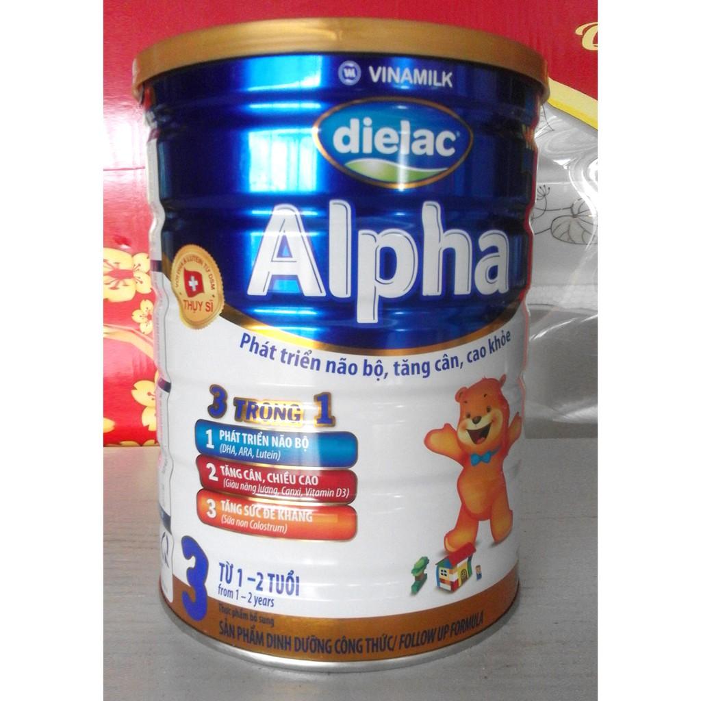 Sữa Bột Dielac Alpha Số 3 (Từ 1 - 2 tuổi) - Lon 900g - 3454665 , 746744282 , 322_746744282 , 140000 , Sua-Bot-Dielac-Alpha-So-3-Tu-1-2-tuoi-Lon-900g-322_746744282 , shopee.vn , Sữa Bột Dielac Alpha Số 3 (Từ 1 - 2 tuổi) - Lon 900g