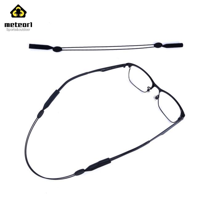 Black Glasses Cable Eyewear Retention System Anti-dropping Anti-slip Fixing Band Rope